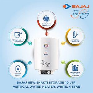 10 Litre Bajaj Water Heater