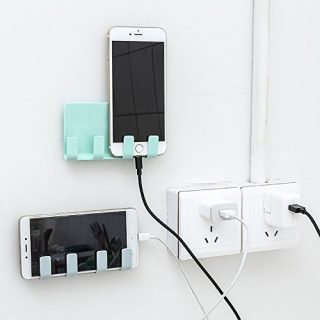 Skudgear Multipurpose Wall Phone Holder Socket Charging Box Bracket