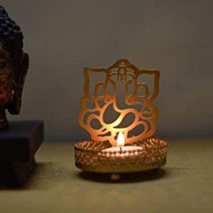 Ganesh Ji Metal Tea Light