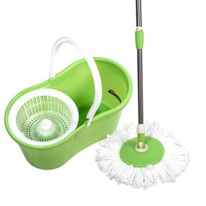 Spin Floor Cleaning Magic Mop Pvc Bucket