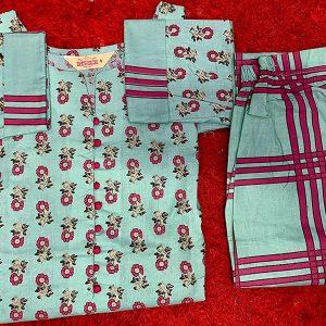 GoSriKi Women's Cotton Straight Kurta
