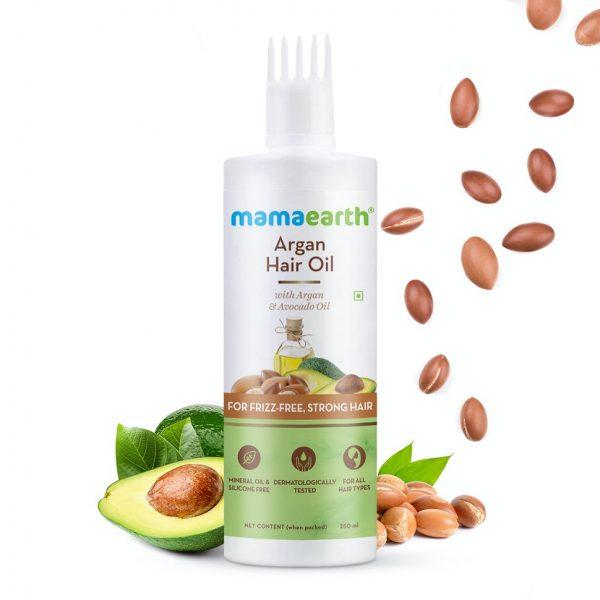 Argan Oil & Avocado Oil for Stronger Hair – 250 ml