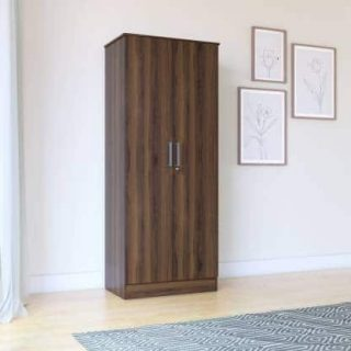 Homes Julian Engineered Wood 2 Door Wardrobe