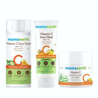Vitamin C Overnight Skin Glow Kit