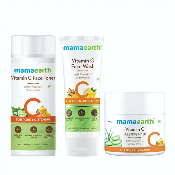 Vitamin C Overnight Skin Glow Kit