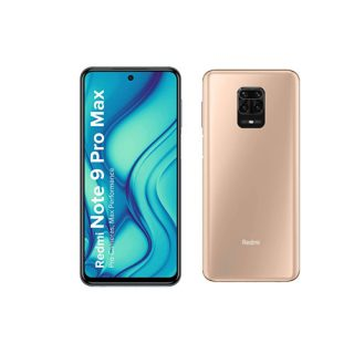 Redmi Note 9 Pro Max (Champagne Gold, 6GB RAM, 64GB Storage)