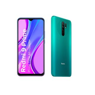 Redmi 9 Prime (Mint Green, 4GB RAM, 64GB Storage)